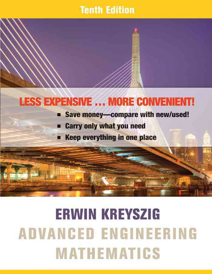 Advanced Engineering Mathematics By Kreyszig, Erwin