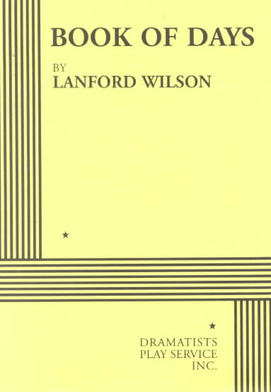 Book of Days By Wilson, Lanford